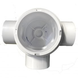 spaquip or emaux 3 way 50mm vvalve body