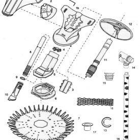 Zodiac Baracuda New Classic Spare Parts Diagram