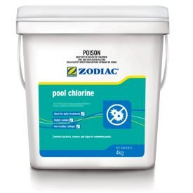 zodiac swimming pool dry chlorine 4kg