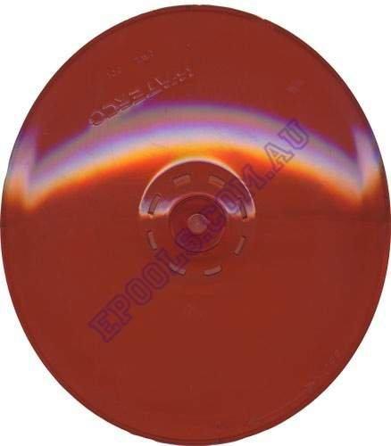 waterco litestream red coloured lens