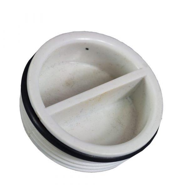 pvc plug skimmer plug 40mm BSP