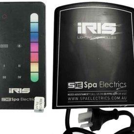 spa electrics iris remote system